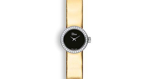 La mini d de dior Ø 19 mm, mouvement quartz - Collections horlogères Dior