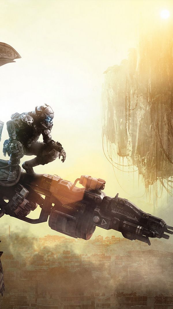 Getting ready to jump Titanfall SciFi image (With
