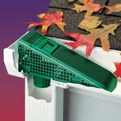 The Wedge Downspout And Gutter Screen Gutters Gutter Cleaning Gutters