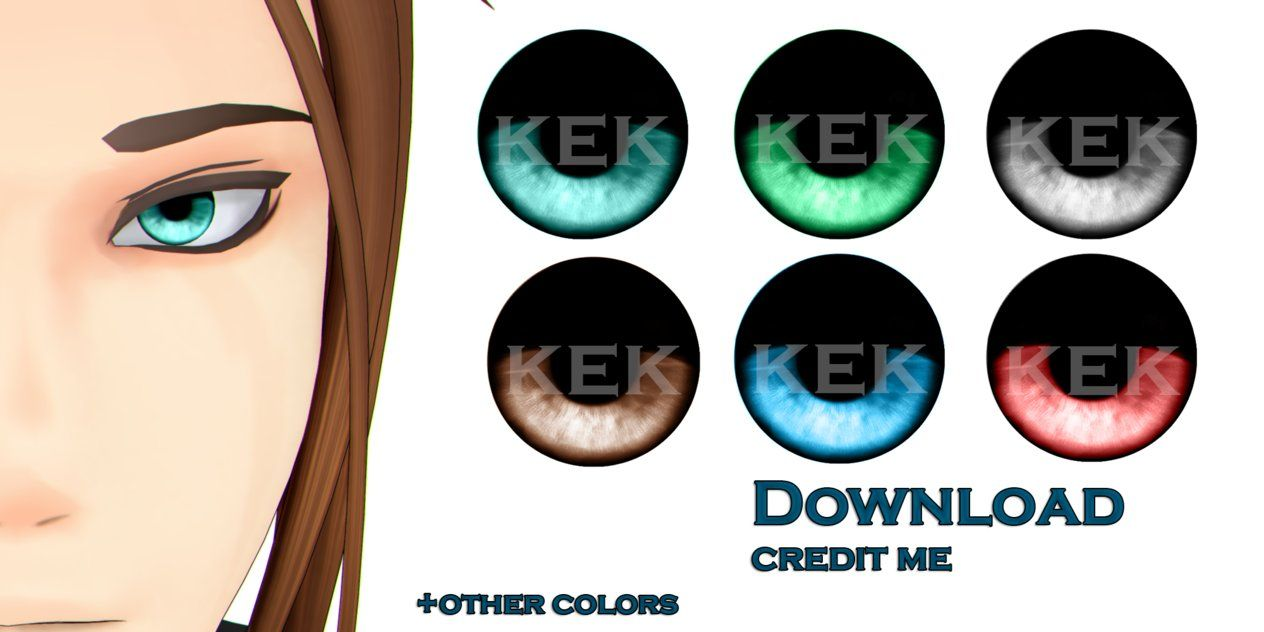 MMD: Eye Textures dl by KlaidAstoria | mms parts and ideas