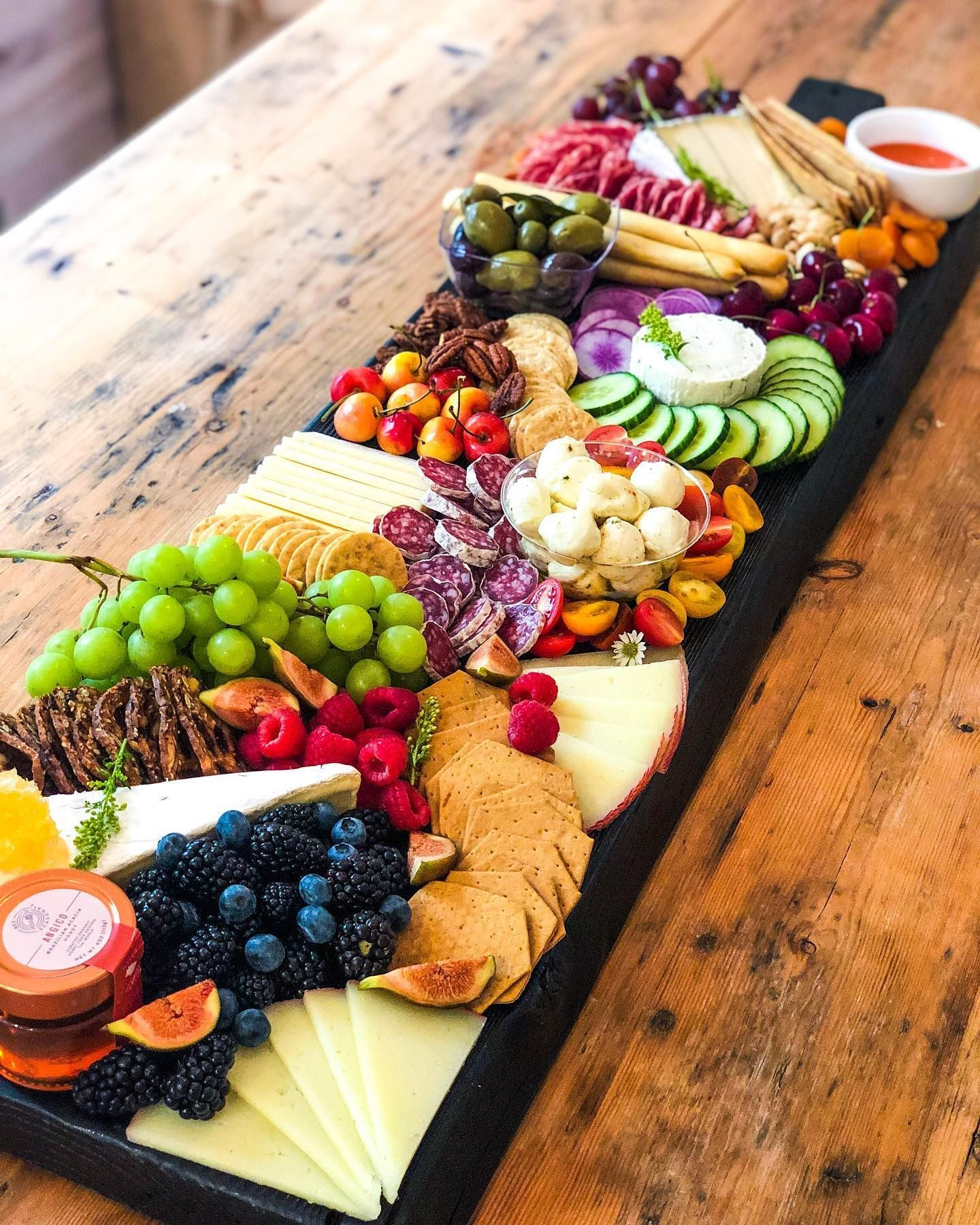 Murray's Mini Brie 8 oz - Cheese Board Inspiration #koudehapjes