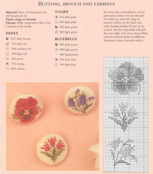 Gallery.ru / Фото #30 - Flowers in Cross - Malee