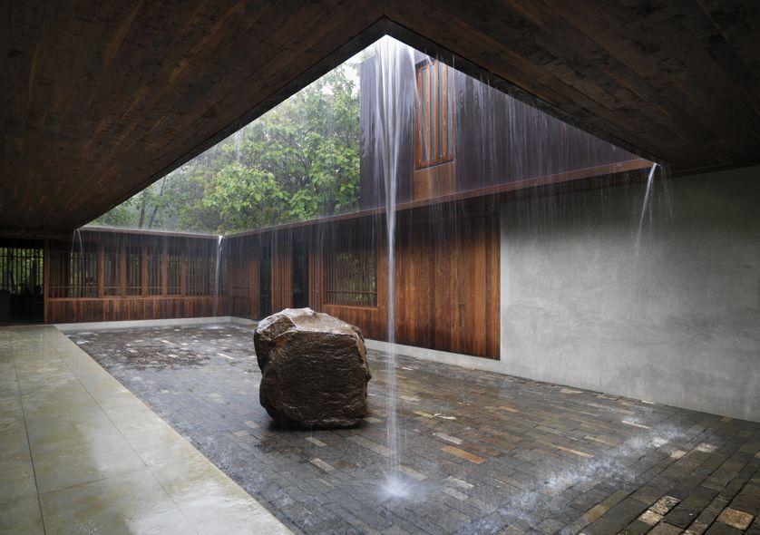 palmyra house studio mumbai enrico cano fotografo wassergarten hinterhoflandschaftenhofhauslichtleinausblickentwurfmoderne - Hinterhof Landschaften Bilder