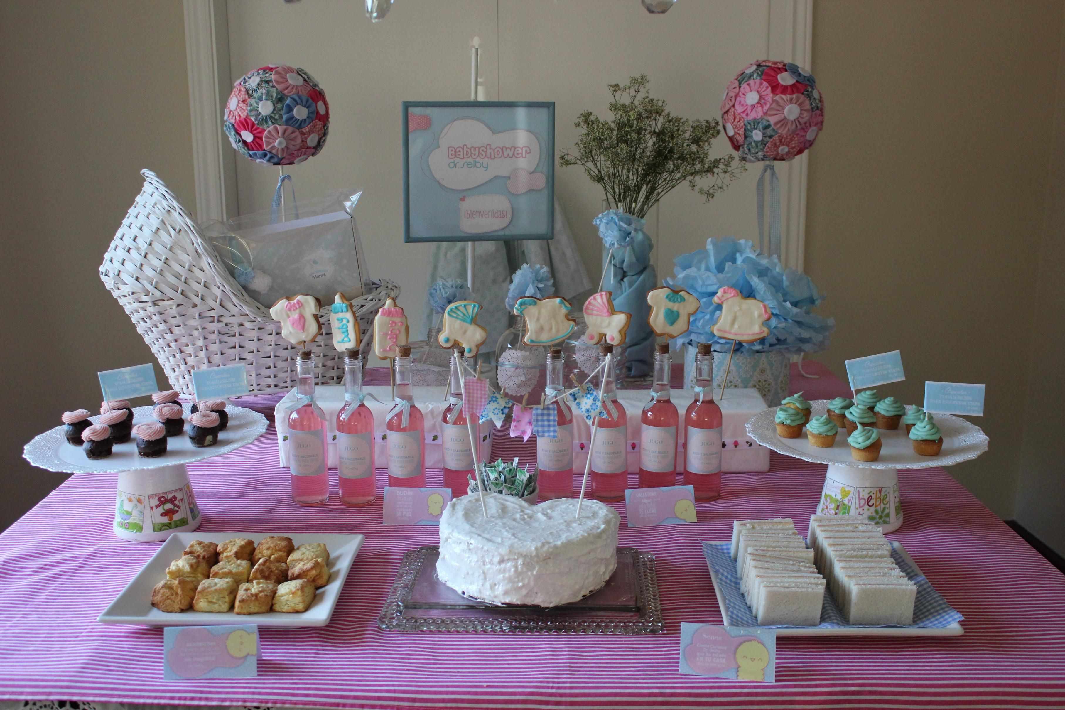 Mesa Decorada Para Baby Shower Imagui Baby Shower Table