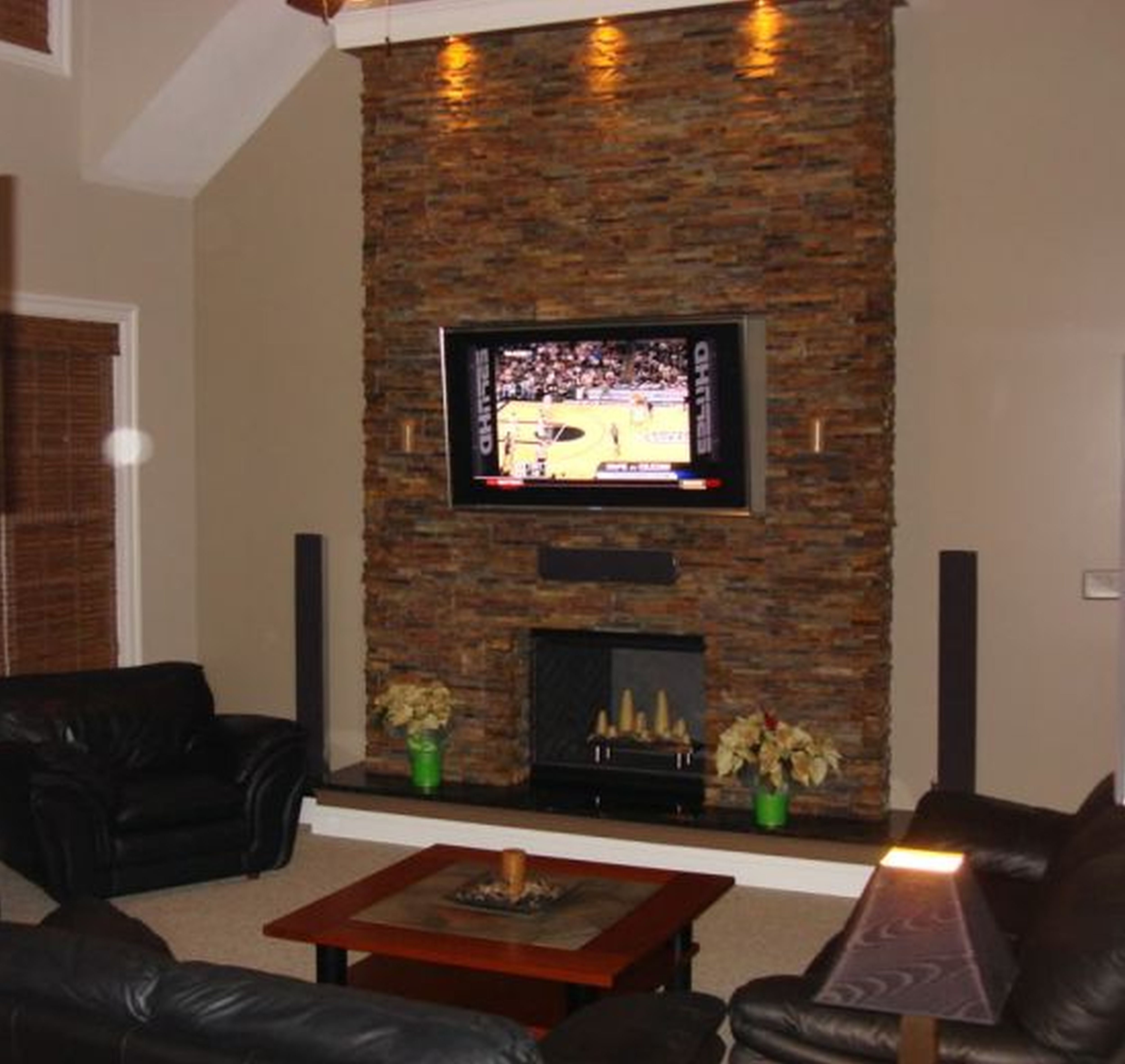 pictures wood ideas decoration facade stacked glamorous fireplace