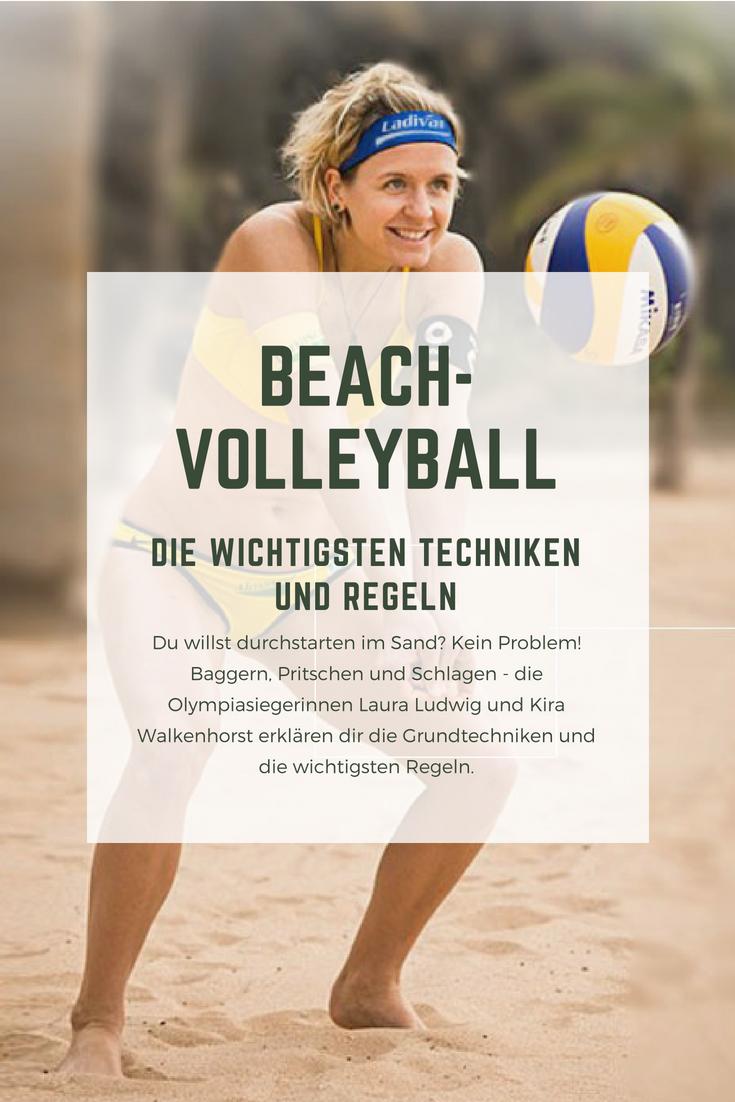 Beach Volleyball Die Wichtigsten Techniken Und Regeln Trainingstipps Technik Regeln Profitipps Beachvolleyball Beachac Volleyball Beach Volleyball Sport