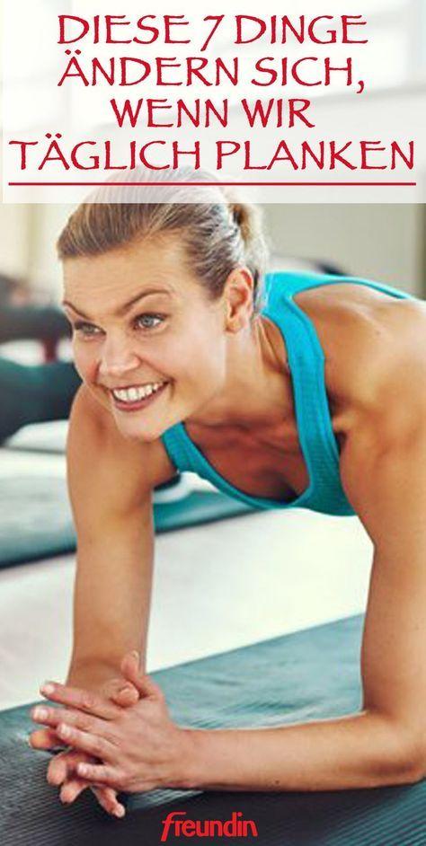 7 Dinge, die sich ändern, wenn Sie ab jetzt täglich Planking machen | freundin.de