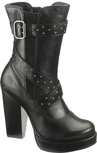 Harley-Davidson Women s Samantha Motorcyle Boot,Black,7.5 M US ... 090f4e4b11