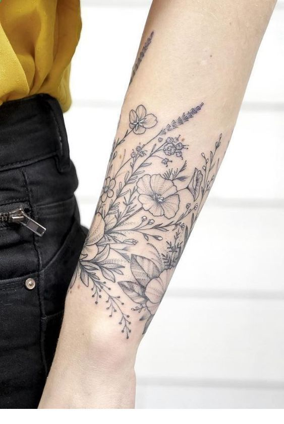 220+ Flower Tattoos Meanings and Symbolism (2020) Different Type of Designs & Ideas