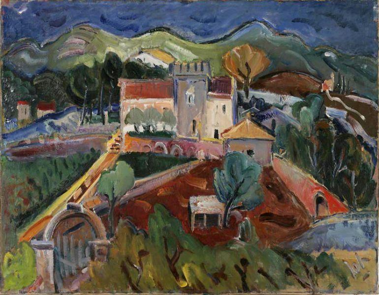 Slika Dana Velika Glavica Na Korculi Art Painting Century