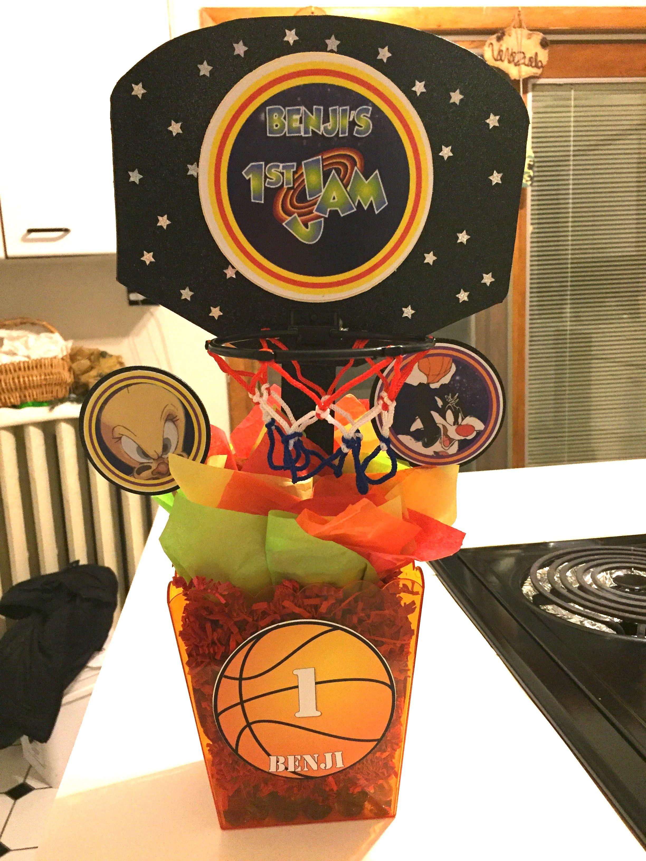 Space Jam Theme Birthday Party Exploring Mars