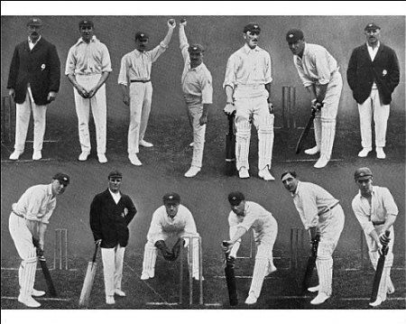 Photographic Print of The Yorkshire County Cricket Team, 1912 from Mary Evans: Amazon.co.uk: Kitchen & Home