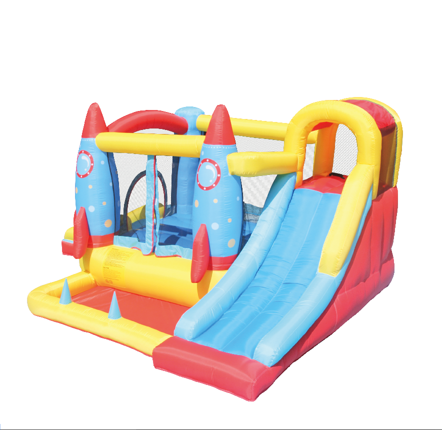 Idea for Kids Large Slide Jumping Castle with Long Slide for Outdoor /& Indoor AirMyFun Inflatable Bounce House Inflatable Bouncer with Air Blower
