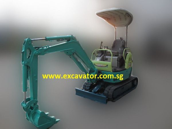 R ton yanmar vio mini hydraulic excavator for rent yanmar for Maison du monde olivet
