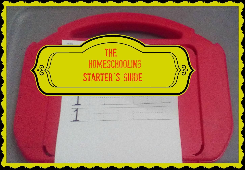The Beginner S Quick Start Guide To Homeschooling