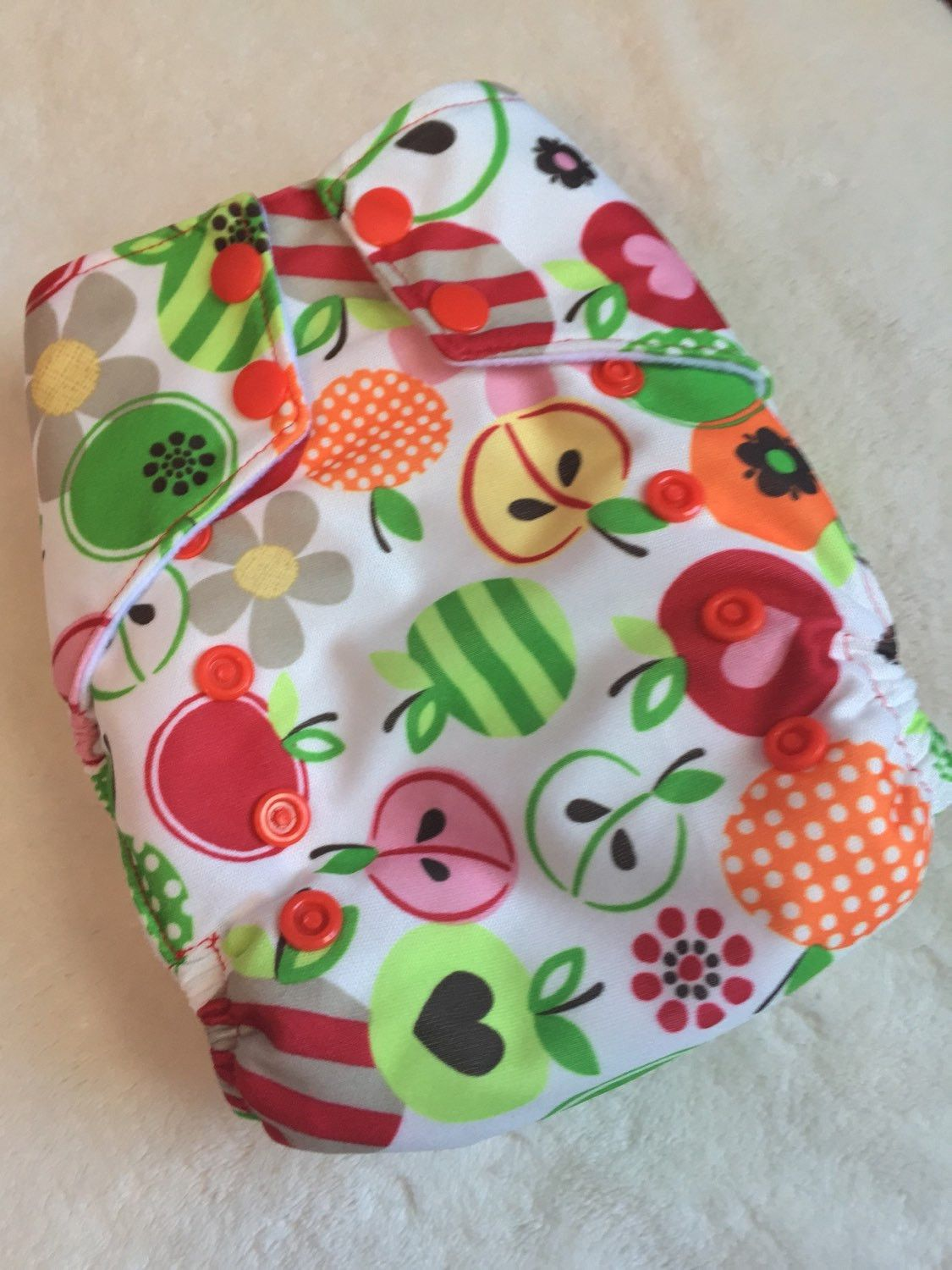 Caribou Bloom Snap Bigger Best Bottom Cotton Diaper Made In The USA