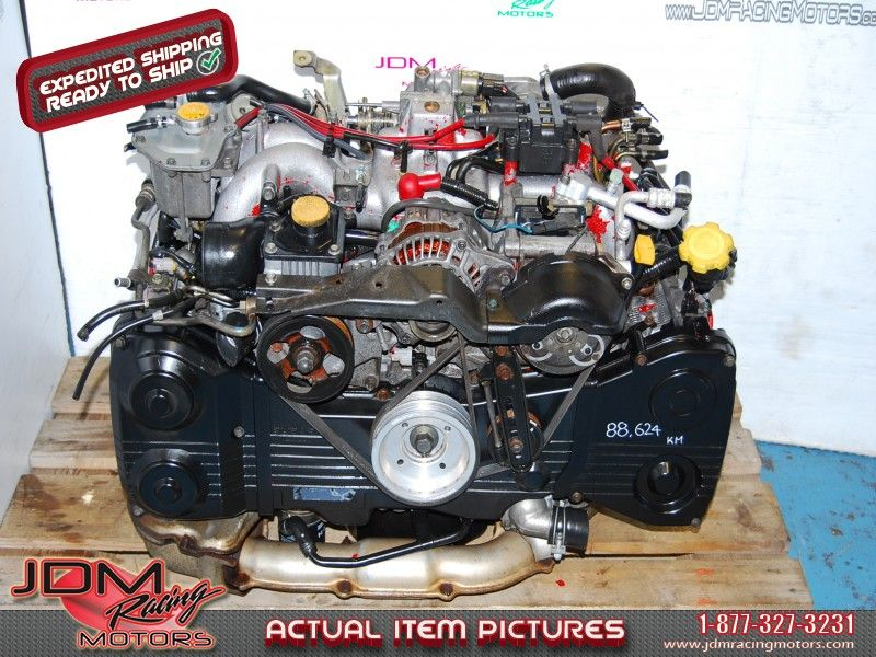 Impreza WRX STi EJ207 Motor, GC8 Version 5/6 1998-2001 2 0L