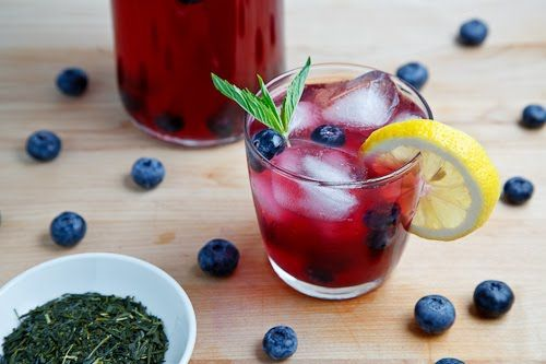 Photo of Blueberry Iced Green Tea