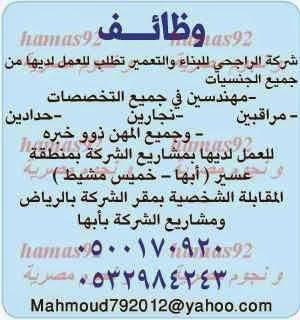 وظائف خالية جريدة الوطن السعودية Math Bullet Journal Journal
