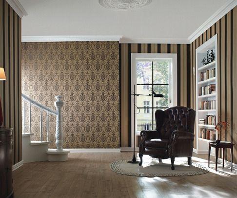 Papel pintado rasch trianon 513080 estilo por menos de 40 euros fant sticos para decorar - Papel pintado salones ...