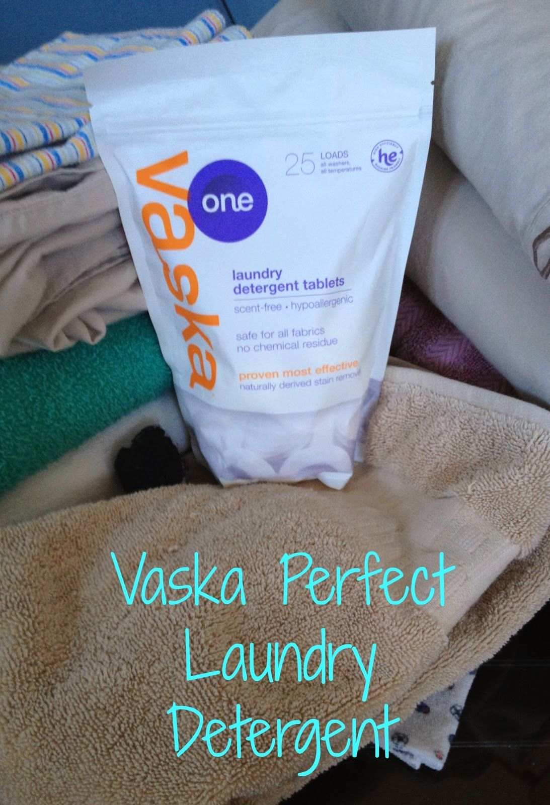 Vaska Perfect Laundry Detergent Safe And Sensitive For Your Family Giveaways