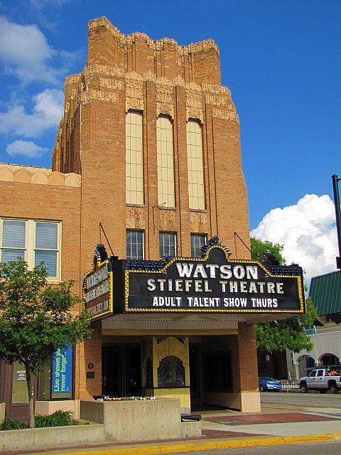 Watson Stiefel Theater Salina Kansas Salina Ks Kansas