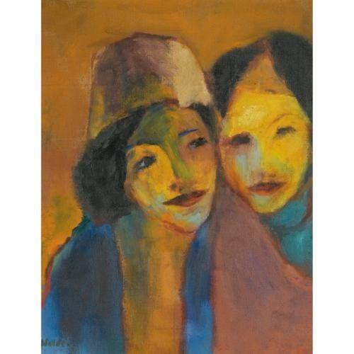 EMIL NOLDE Farbenfreude (Colorful Joy, 1949)