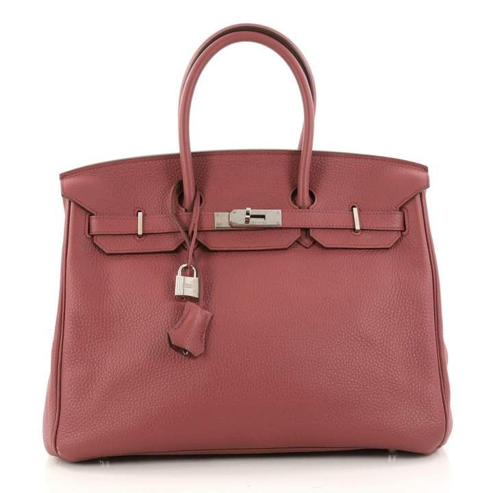 23d0878fa8 Birkin 35 leather handbag in 2019