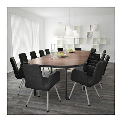 pingl par caroline dion sur meubles de bureau ikea conference table et table. Black Bedroom Furniture Sets. Home Design Ideas
