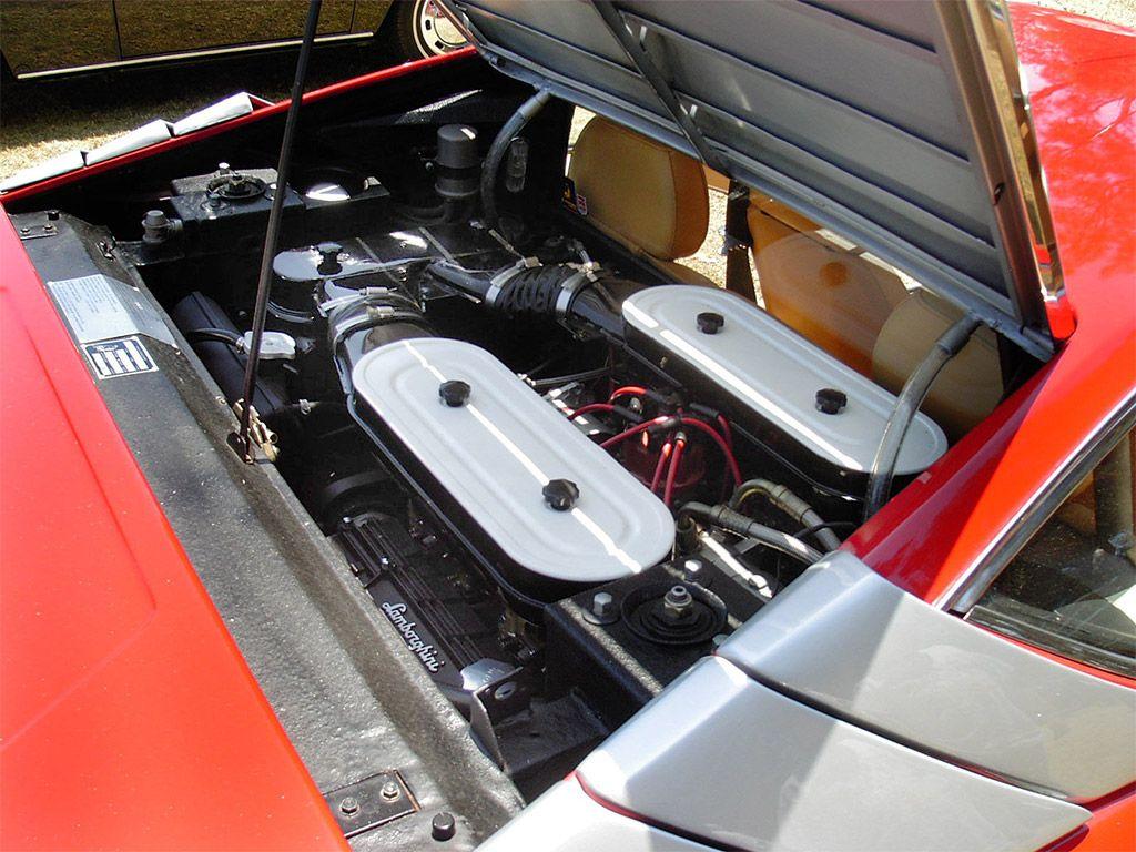 Lamborghini Urraco P300 Engine Lambo Older Models Lamborghini