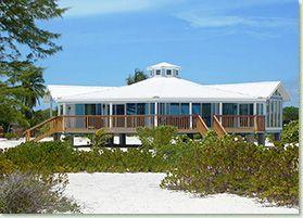 Bahama Beach House On Short Piers Pilings
