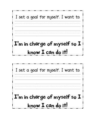 Goal Setting!! Would like to take and make into a ribbon, so after - smart goals template