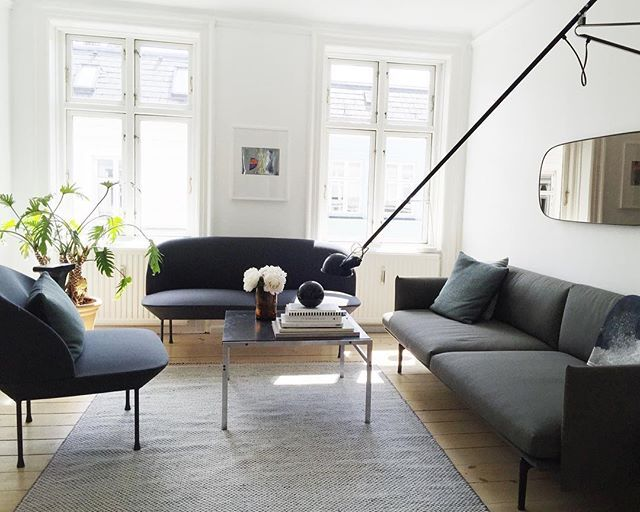Pin Av Gabri Joy Kirkendall Pa For The Home I 2019 Muuto Sofa