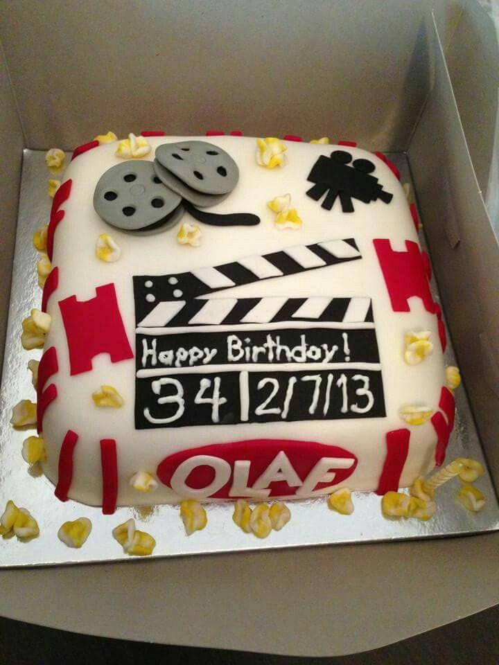 Movie - themed cake