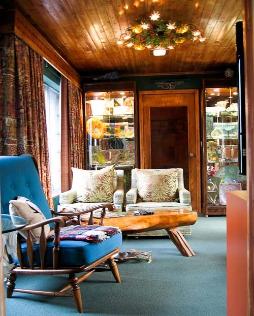Decorating With Knotty Pine Walls: 6 Ready-made Designs For Retro