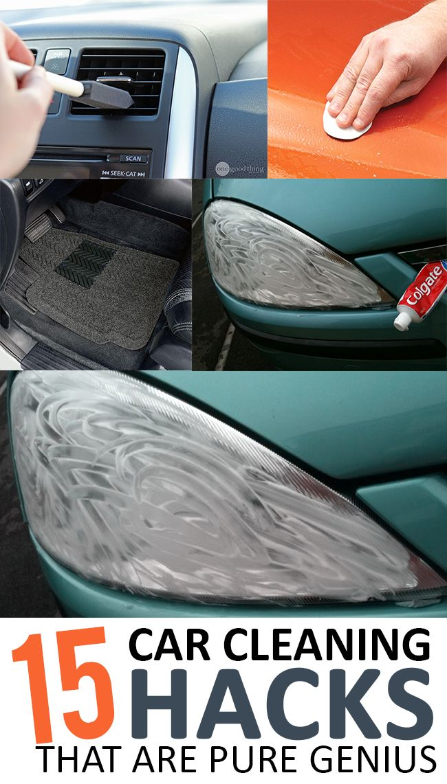 Car Cleaning Hacks That Will Clean Your Car Better Than You - 14 brilliant cleaning hacks that will change the way you clean your home