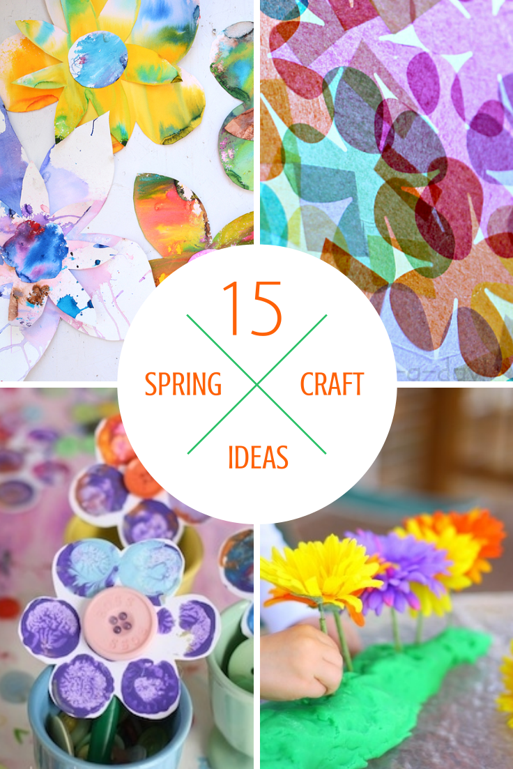 15 Spring Pastel Nail Designs: Tutus And Tea Parties: 15 Easy Spring Activities & Crafts