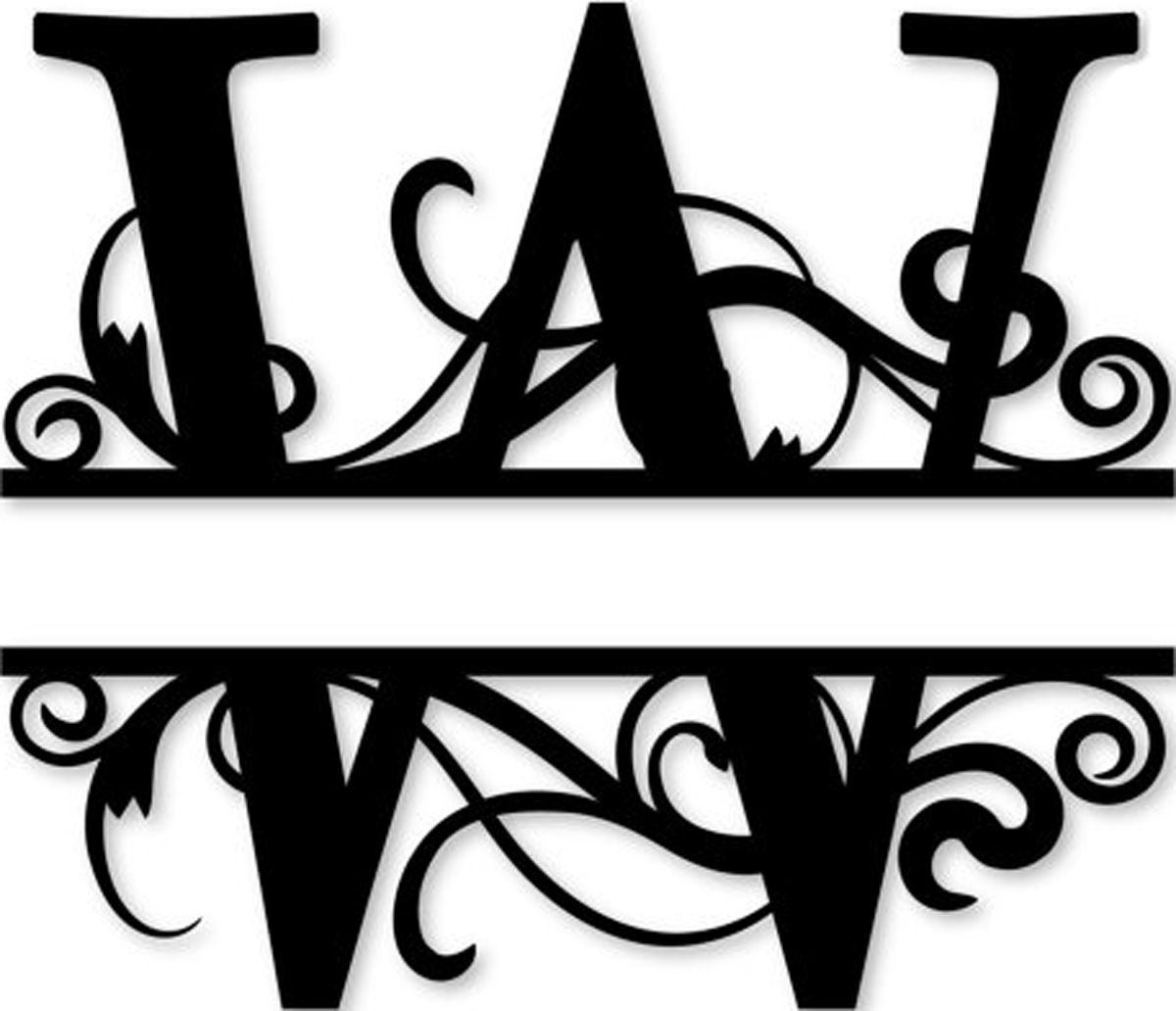 free monogram template - pin by wendy costa on letter w for wendy pinterest