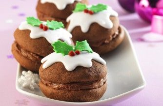 Christmas pudding whoopie pies - amazing!