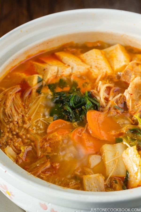 Kimchi nabe recipe kimchi japanese and easy stew kimchi nabe easy japanese recipes forumfinder Gallery