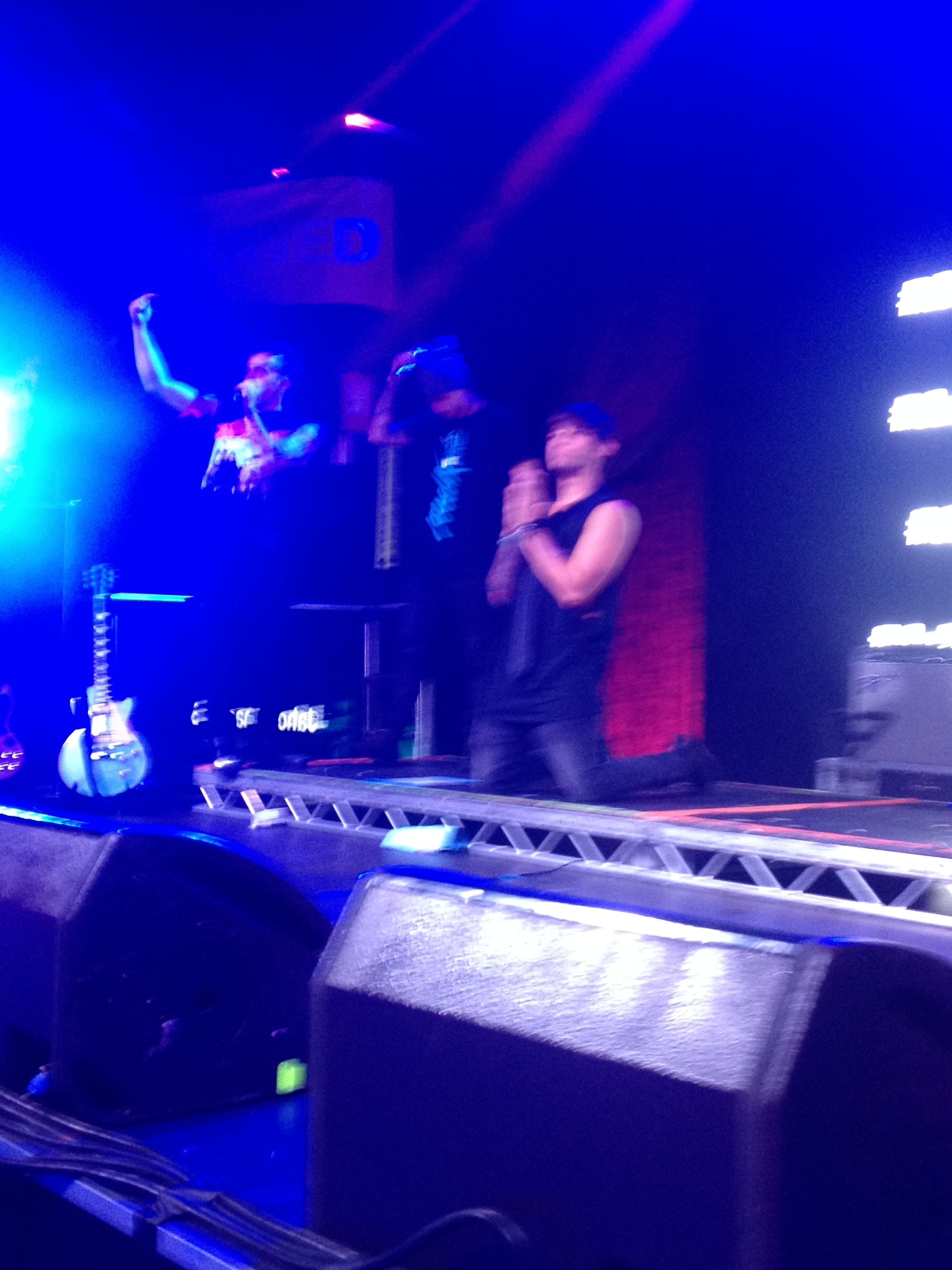 Daniel Jai and Beau onstage <3