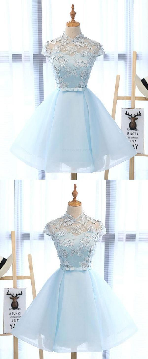 Prom dresses short light blue prom dresses prom dresses blue