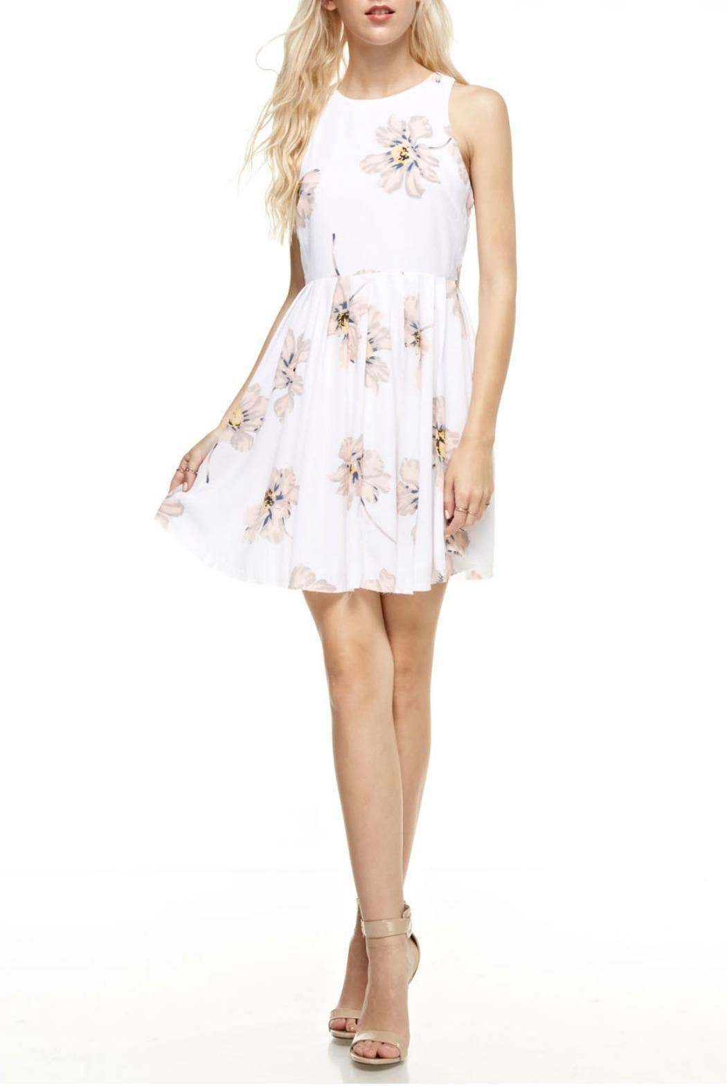 Aakaa peach blossom dress shoptiques boutique products pinterest