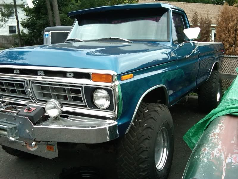 Ford Truck Enthusiasts >> Classic Ford Trucks Looking For Classic Warn Winch Bumper