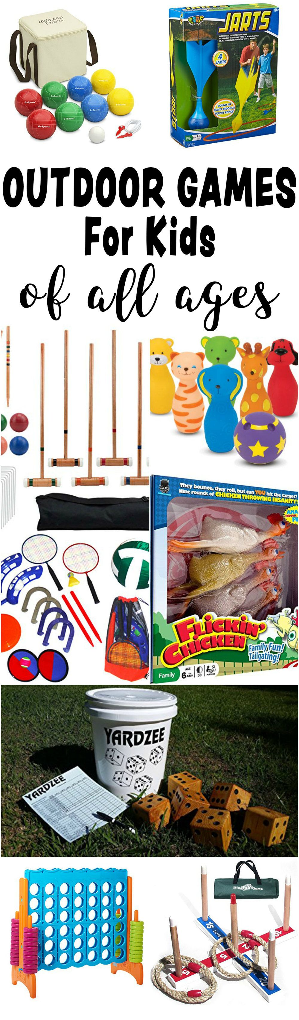 Fun Outdoor Games For Kids All Ages