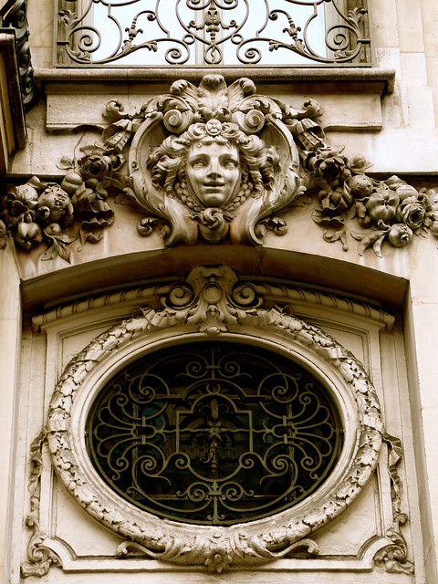 Architectural detail in Paris.