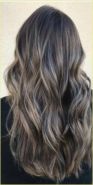 Ash Blonde Balayage Ombre / top 2021 in 2020 | Hair color shades, Ash blonde highlights on dark ...