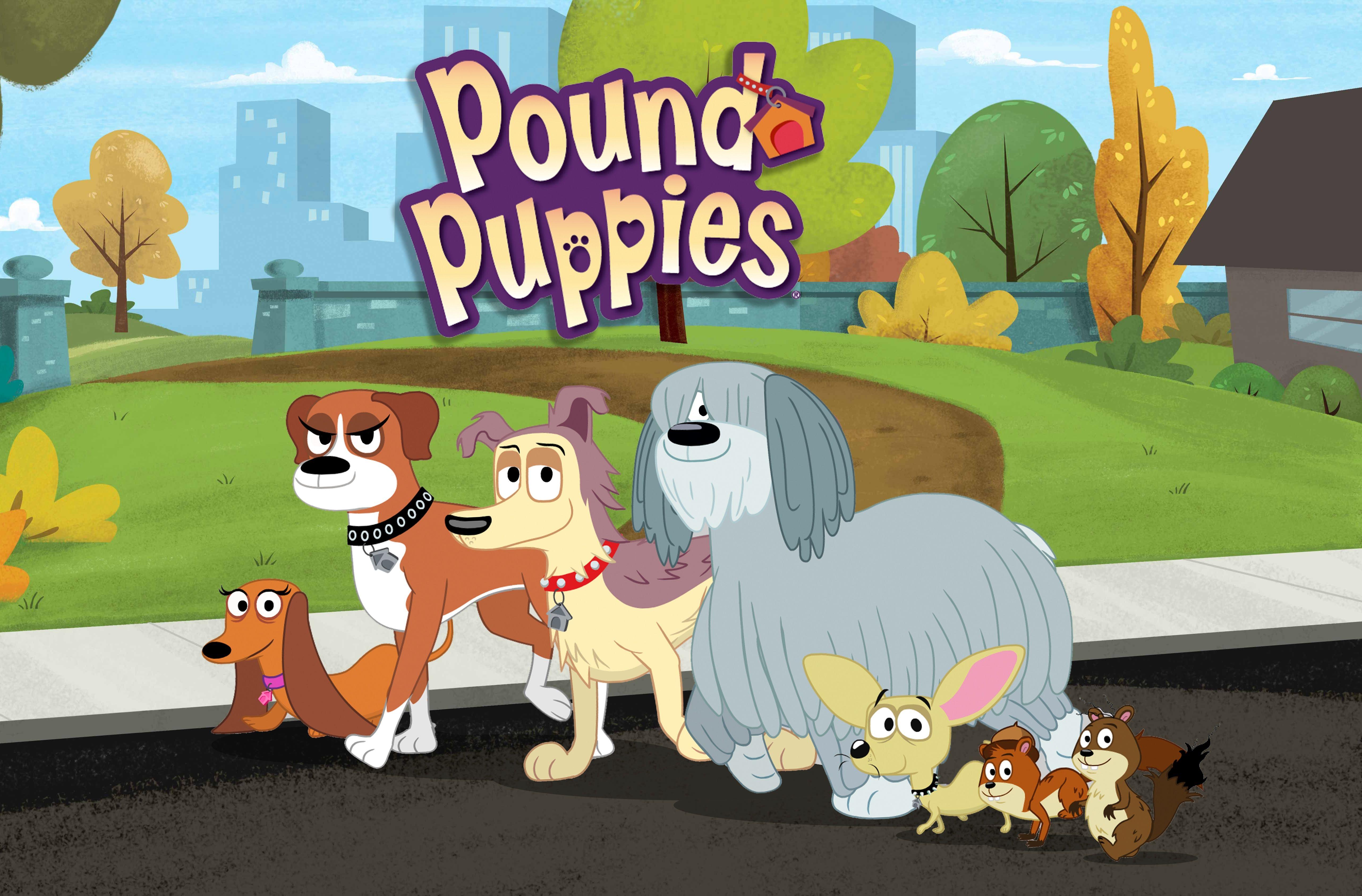 Hub Unleashes New Pound Puppies Episodes Pound Puppies Puppies