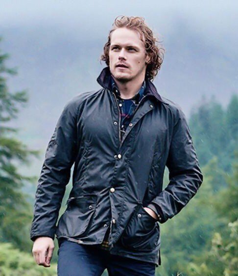 top design utterly stylish best online Barbour ambassador Sam Heughan … | Sam heughan, Sam heughan ...