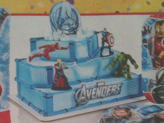Avengers Cake From Walmart Birthday Superhero Party Avenger Cupcake Cakes